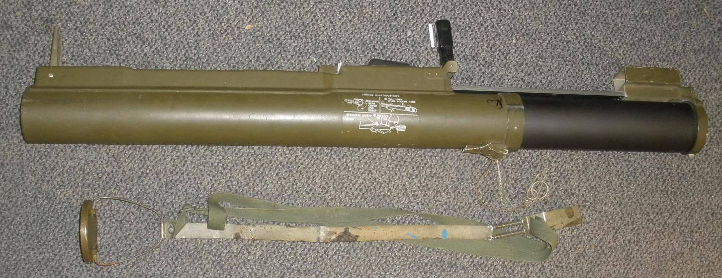 US M72A2 LAW Tube -INERT Display