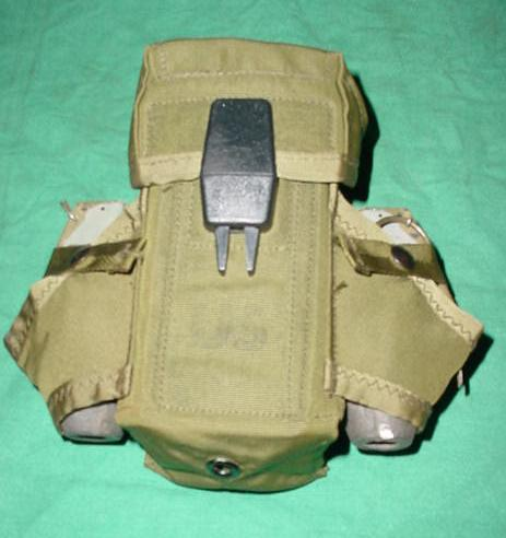 US GI M16 Magazine Pouch USED OD Green, POUCH ONLY