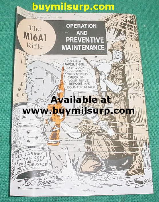 M16A1 Operation & Maintenance Comic Book