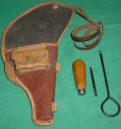 Accessory Kit, Holster, Tool, Rod & Lanyard M1895 Russian Nagant