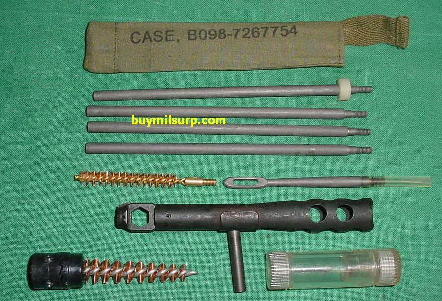 Cleaning Kit DELUXE Buttstock M1A M-14 Rifle