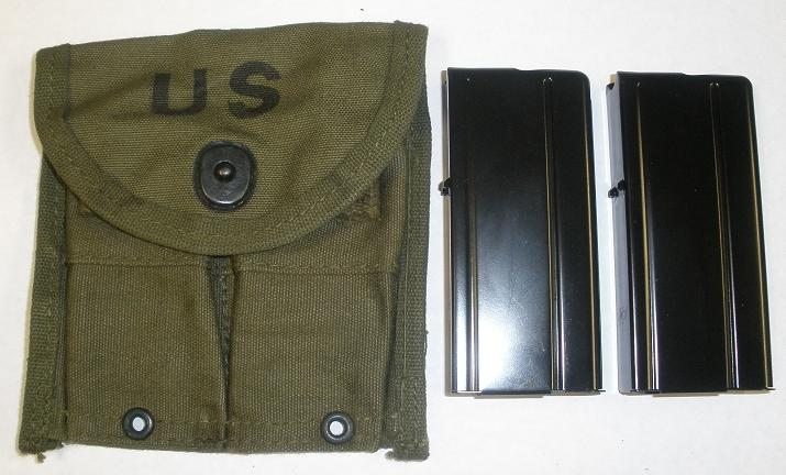 M1 Carbine Accessory Kit - KHAKI (TAN) Pouch, 2 Mags