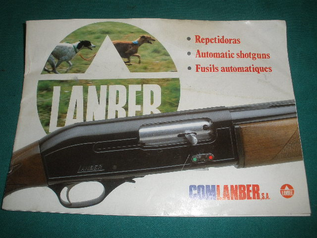 Lanber Shotgun Manual Models 531 532 534