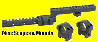 MISC SCOPE & ACCESS MOUNTS