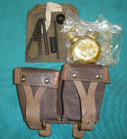 Ammo Pouch & Cleaning Kit Combo, Mosin Nagant