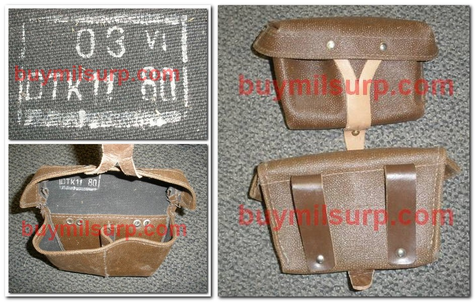 Ammo Pouch UNUSUAL-1980's Russian Mosin Nagant QTY 1