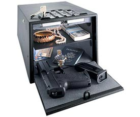 MULTIVAULT DELUXE HANDGUN SAFE CA DOJ APPROVED - GUNVAULT
