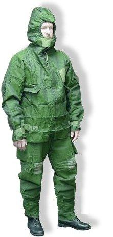 British Nuclear Biological Chemical NBC Suit OD Green