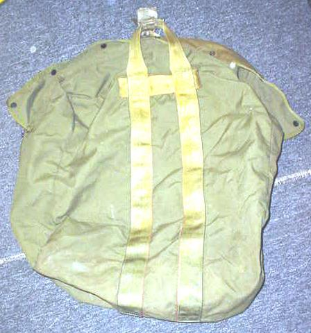 "Military Carry Bag Approx 22""X22"" OD Used"