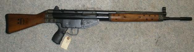 Spanish CETME 7.62X51 Rifle