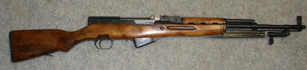 Russian SKS 45 7.62X39 Rifle Tula Dated 1954