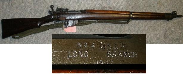 Enfield No4 Mk1* .303 Rifle 1942 Longbranch Good Cond.