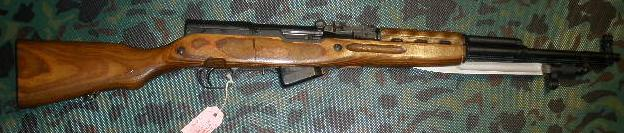 Russian SKS 45 7.62X39 Rifle Laminated Stock TULA 1952