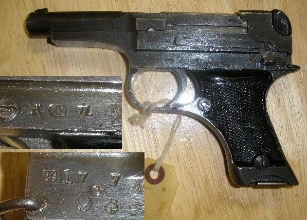 Japanese Type 94 8mm Pistol VG