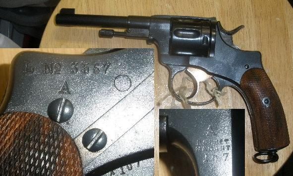 Japanese Type 26 9mm Revolver