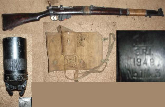 Enfield NO1 MK3 .303 Grenade Launching with Cup