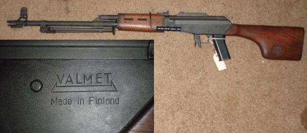 Finnish Valmet M78 .308 Rifle (AK Variant)