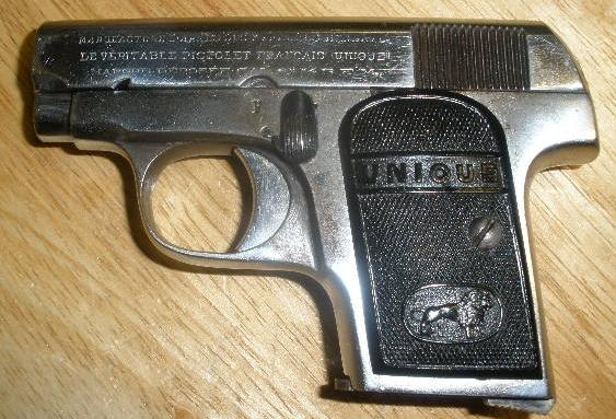 French Unique Pistol