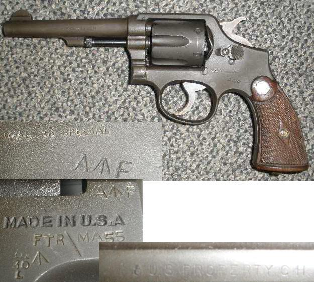 Smith & Wesson Model 10 Victory AF (Australian Forces)