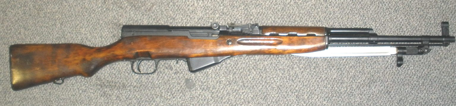 Russian SKS 45 7.62X39 Rifle TULA 1954