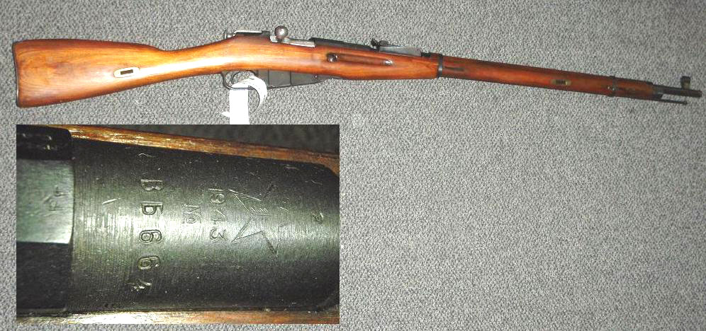 Russian M91/30 1943 TULA HEX Receiver Mosin Nagant Rifle