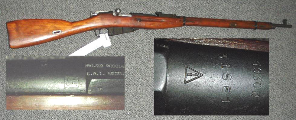 Russian M91/30 1930 Izhvesk SA MARKED - RECENT IMPORT