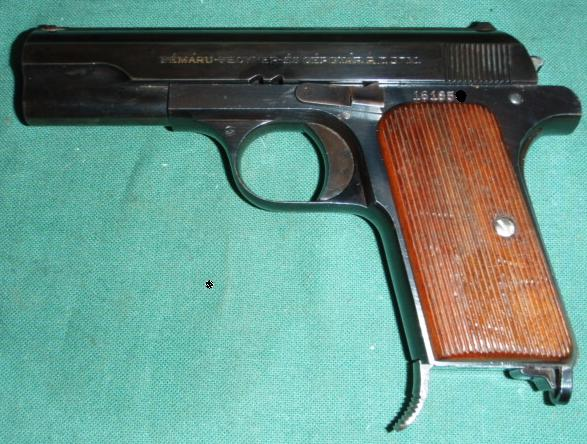 Hungarian 37M .380 - Frommer Fémáru Pisztoly 37.M (1937 Minta)