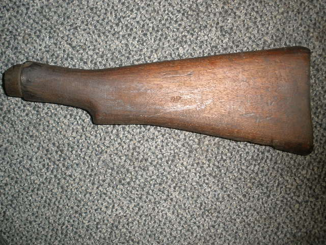 Buttstock Enfield No 1 Mk 3 Arsenal Repair