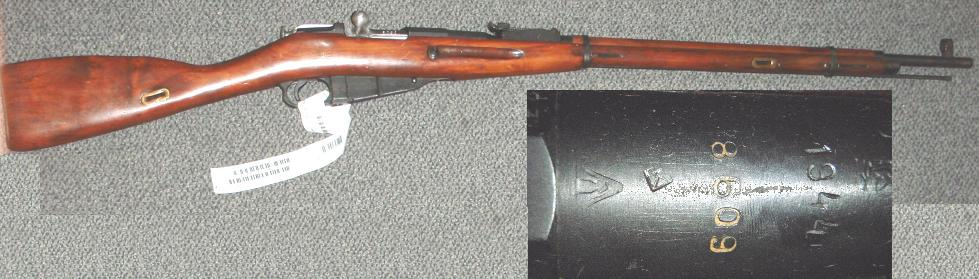 Russian M91/30 1944 HEX Izhvesk Mosin Nagant Rifle