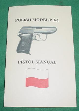 Booklet Polish P-64 Pistol Manual