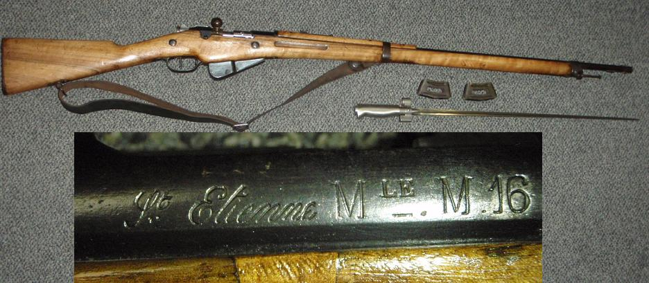 French M1916 Berthier Rifle 8mm