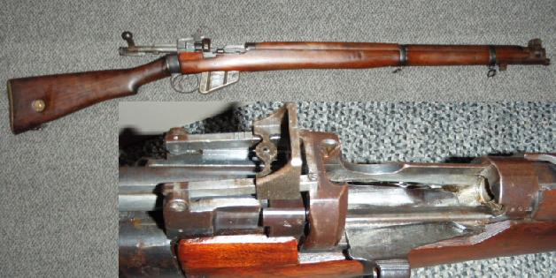 British Enfield SHT. LE MKV (No1 MKV) Rifle Caliber 303 British