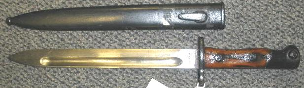 Siamese Type 46 Bayonet with Scabbard