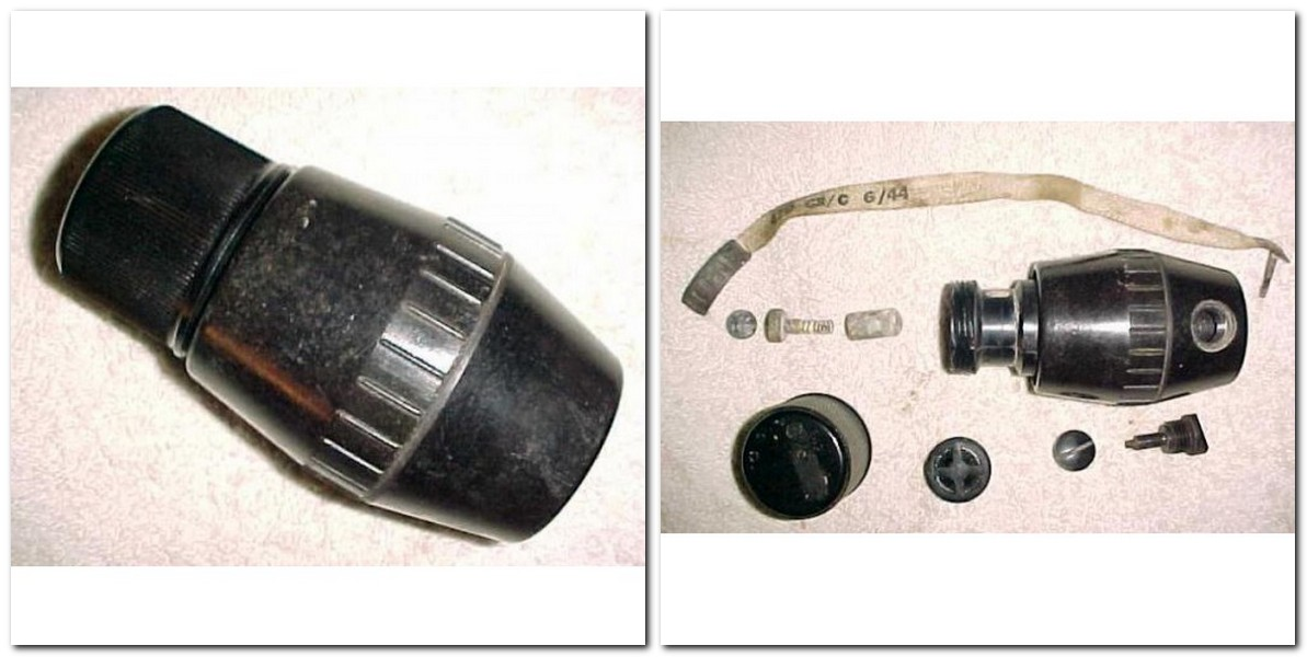British WW2 No 69 Grenade