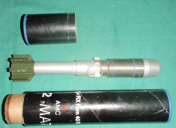 French 40mm F1 Rifle Grenade