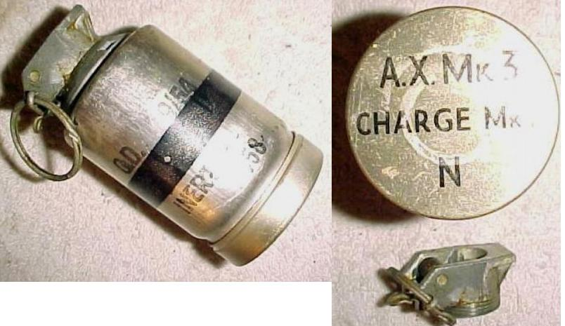 British Naval AX Mk3 Echo Location Grenade