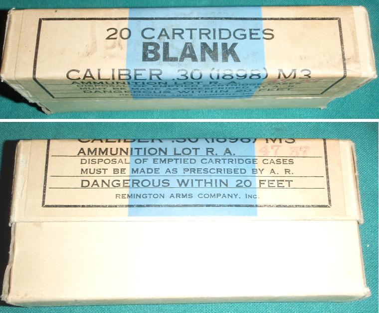 30-40 Krag Blanks Remington Arms 20rd QTY 2 Boxes