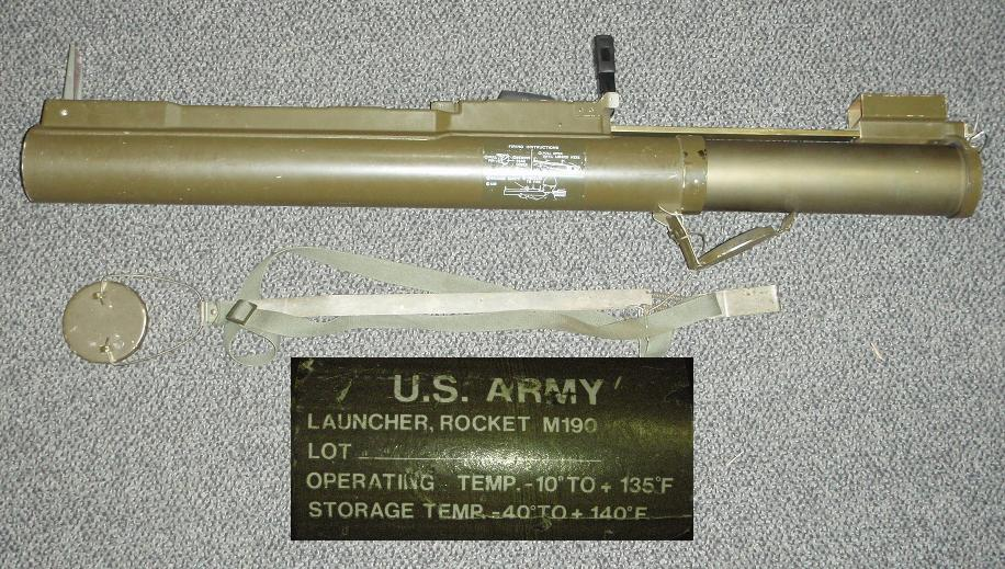 US LAW M190 Launcher with Sub Caliber Insert