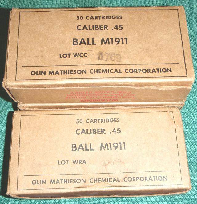 45 ACP US 50rd Boxes