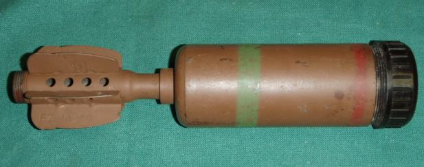 "British 2"" HE Mortar Round"