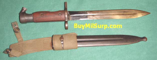 Hakim Rifle Bayonet with Scabbard and Frog