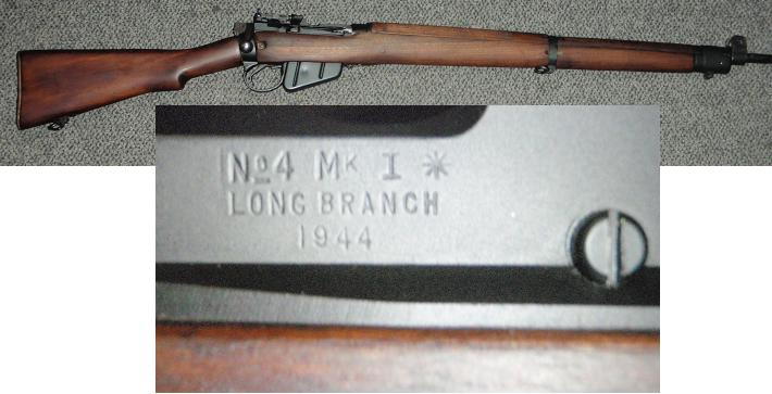 Enfield No4 Mk1* .303 Rifle 1944 Longbranch EXC