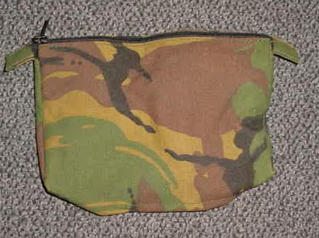 Camo Zipper Pouch, British
