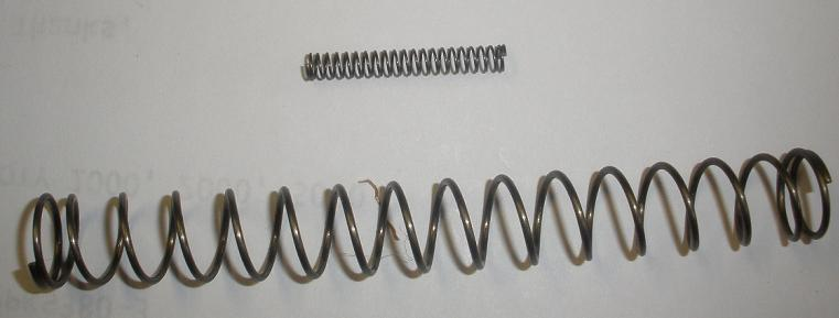 Recoil Spring & Firing Pin Spring - Walther PPK PPKS .380 Pistol