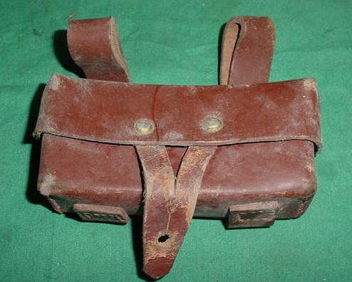 Pouch SKS Romanian Leather Well Used