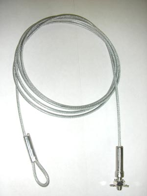 6 Foot Security Cables QTY 2 - GUNVAULT