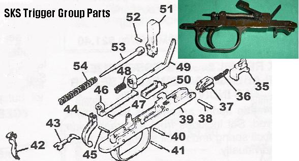 Trigger Group Assembly SKS Rifles