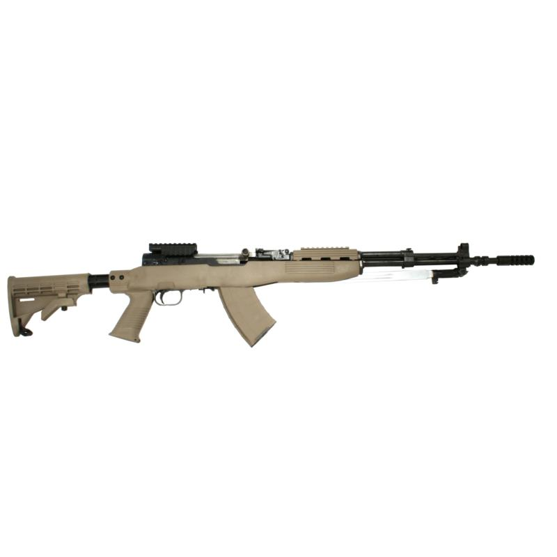 SKS T6 Stock Set, Blade Bayo Cut, FDE Intrafuse - W/ 1 Mag