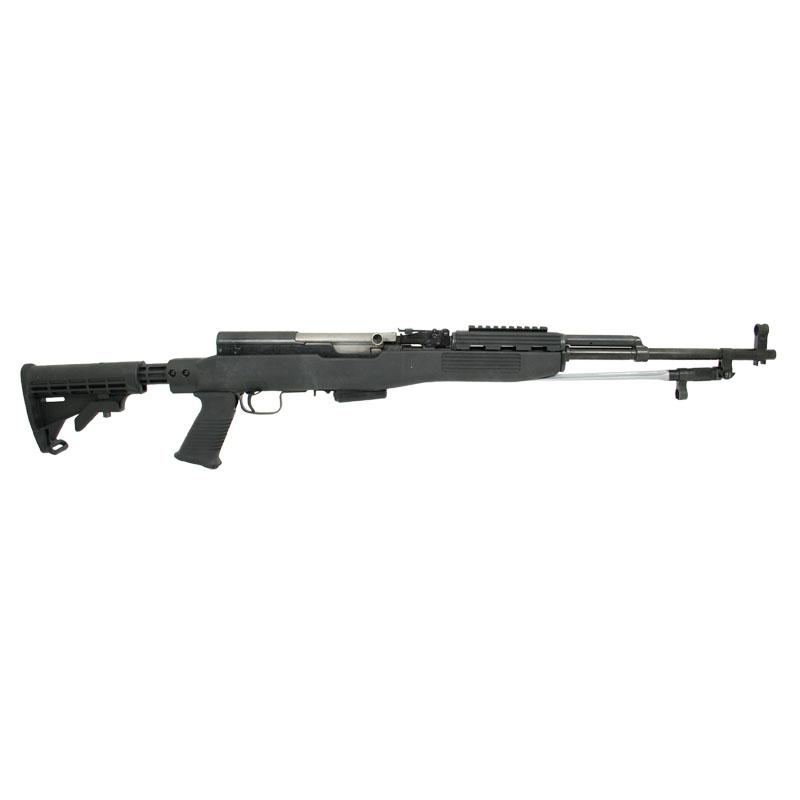 SKS T6 Stock Set, Spike Bayo Cut, BLACK Intrafuse w/ 1 MAG