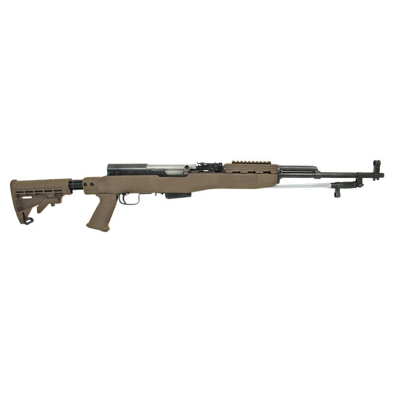 SKS T6 Stock Set, Spike Bayo Cut, FDE Intrafuse w/ 1 Mag